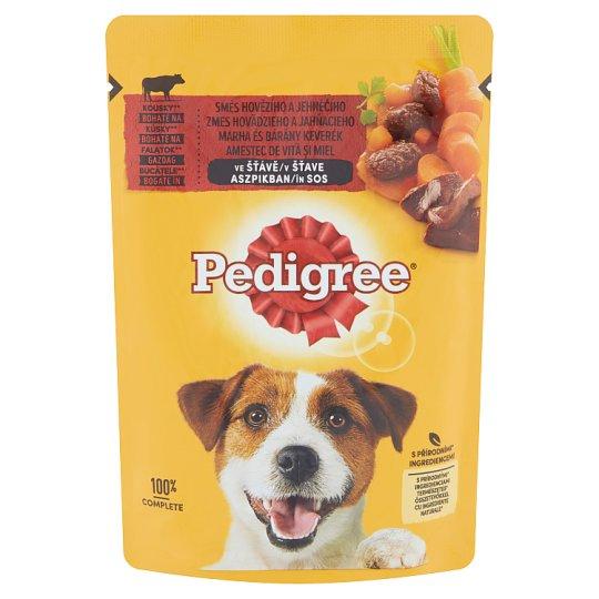 Pedigree Vital Protection teljes értékű állateledel felnőtt kutyák számára marhával, báránnyal 100 g