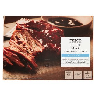 Tesco Finest Sous-Vide Pulled Pork Shoulder in Honey BBQ Sauce 300 + 50 g