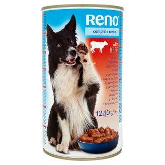 Reno teljes értékű állateledel felnőtt kutyák számára marhával 1240 g