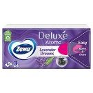 Zewa Deluxe Lavender Dreams illatosított papír zsebkendő 3 rétegű 90 db