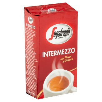 Segafredo Zanetti Intermezzo Una Pausa di Piacere őrölt pörkölt kávé 250 g