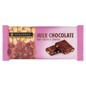 Ryelands Chocolate Milk Chocolate with Raisins & Peanuts 100 g
