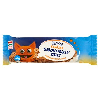 Tesco Cinnamon Flavoured Cereal Bar with White Base 25 g
