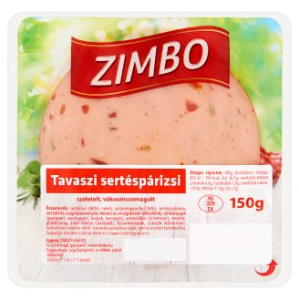 Zimbo Cold Cuts with Vegetables 150 g