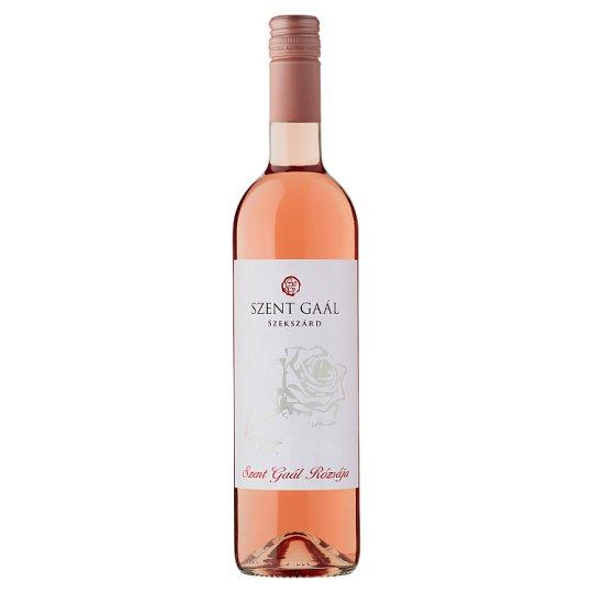 Szent Gaál Szekszárd Rózsája száraz rosé bor 12,5% 750 ml