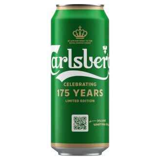 Carlsberg Premium Lager Beer 5% 500 ml
