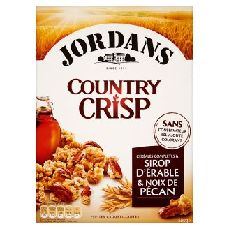 Jordans Cereal with Maple Syrup & Pecans 550 g