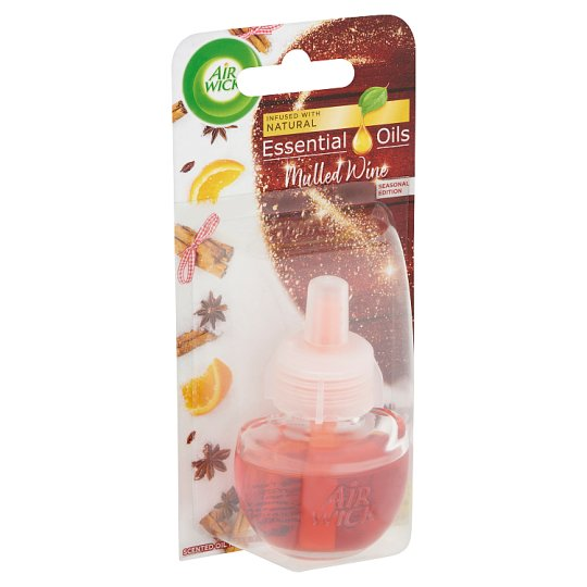 Air Wick Essential Oils Mulled Wine Scented Oil Refill 19 ml