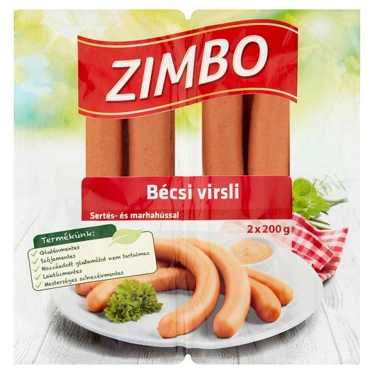 Zimbo bécsi virsli 2 x 200 g