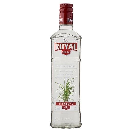 Royal Citromfű ízesített vodka 37,5% 0,5 l