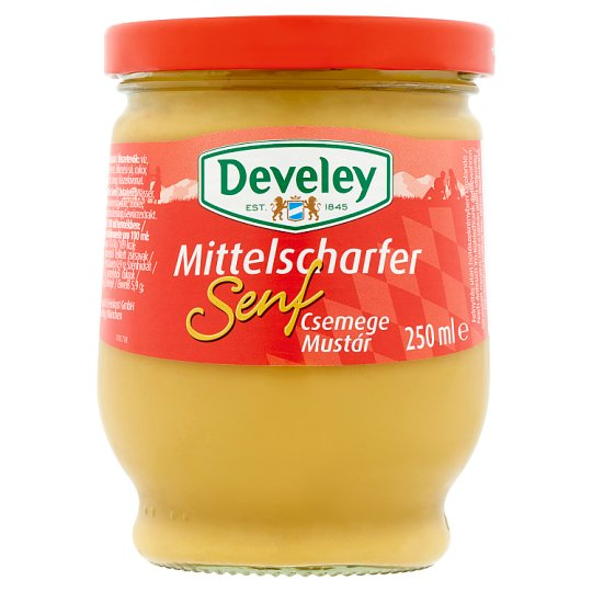 Develey Delicate Mustard 250 ml