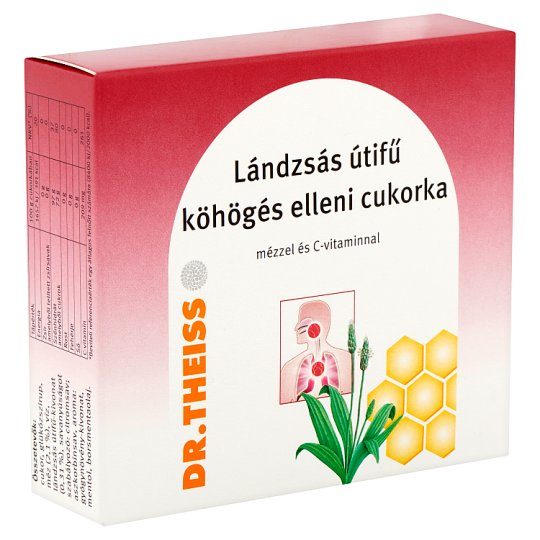 Dr.Theiss Rib-Grass Cough Lozenge with Honey and Vitamin C 50 g