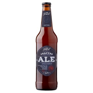 Tesco Finest Ale Unfiltered Quality Lager Beer 5,2% 500 ml
