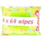 Tesco Loves Baby Fragranced Ultra Soft Wipes 4 x 64 pcs