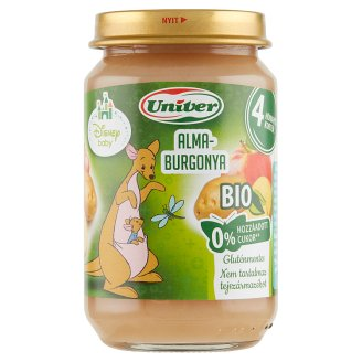 Univer Organic Apple-Potato Dessert for Babies 4+ Months 163 g