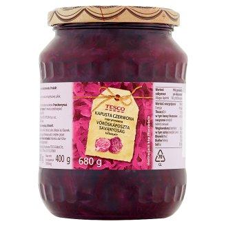 Tesco vöröskáposzta savanyúság 680 g
