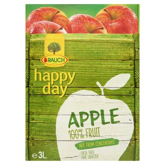 Rauch Happy Day 100% Cloudy Apple Juice with Vitamin C 3 l