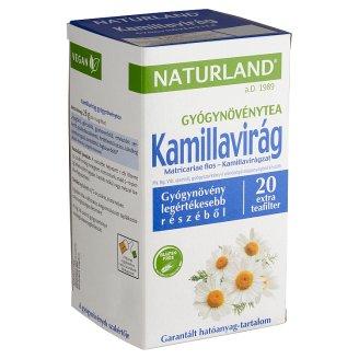 Naturland Herbal Chamomile Herbal Tea 20 Tea Bags 28 g