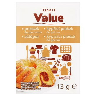 Tesco Value Baking Powder 13 g