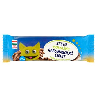 Tesco Chocolate Flavoured Cereal Bar with White Base 25 g