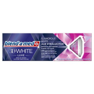 Blend-a-med 3D White Luxe Toothpaste 75ml, Glamorous White
