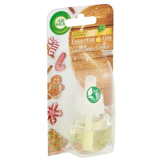 Air Wick Essential Oils Christmas Cookie Scented Oil Warmer & Refill 19 ml