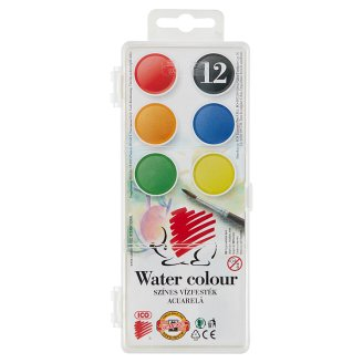 Ico KOH-I-NOOR 12 pcs Water Colour