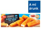 Tesco Pre-Fried Quick-Frozen Alaskan Pollack Fish Fingers 450 g