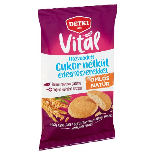 Detki Sugar Free Biscuits with Sweeteners 200 g