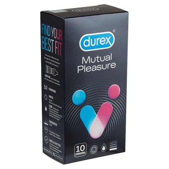 Durex Mutual Pleasure óvszer 10 db