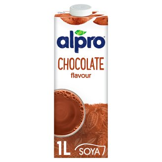 Alpro Chocolate Flavoured UHT Soya Drink with Added Calcium and Vitamins 1 l