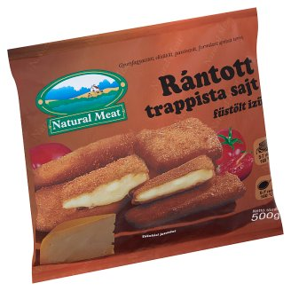 Natural Meat Quick-Frozen, Ready-Fried, Smoked Flavoured, Breaded Trappist Cheese 500 g