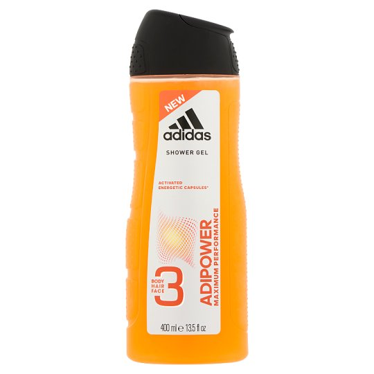 Adidas Adipower 3in1 tusfürdő 400 ml