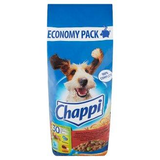 Chappi állateledel felnőtt kutyák számára marhahússal, baromfihússal és zöldségekkel 13,5 kg