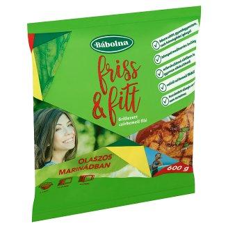 Bábolna Friss & Fitt gyorsfagyasztott grillezett csirkemell filé olaszos marinádban 600 g