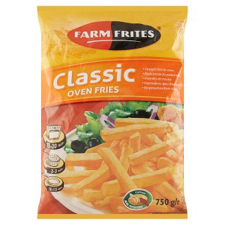 Farm Frites Pre-Fried, Quick-Frozen Fries for Oven 750 g