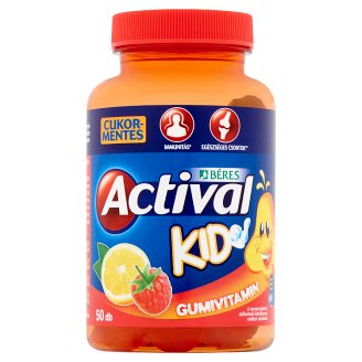 Béres Actival Kid Gumivitamin Gummy Tablets 50 pcs 150 g