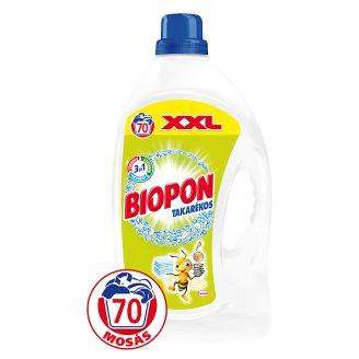 Biopon Takarékos folyékony gél mosószer fehér ruhákhoz 70 mosás 4,62 l