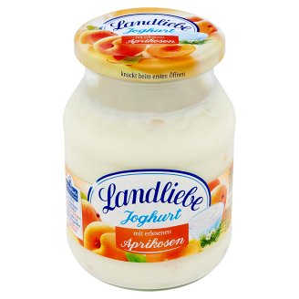 Landliebe Yoghurt with Juicy Apricots 500 g