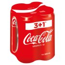 Coca-Cola Carbonated Soft Drink 4 x 330 ml