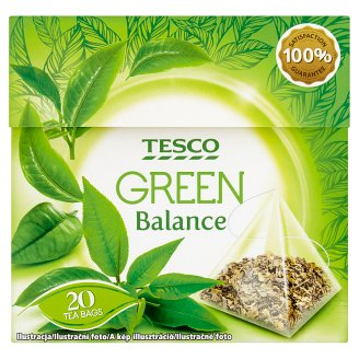 Tesco Green Balance Filtered Green Tea 20 Tea Bags 30 g