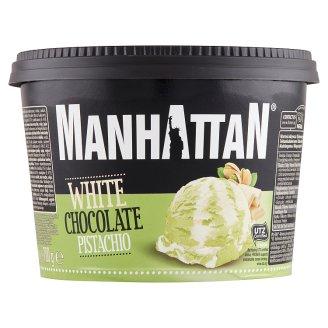 Manhattan Classic fehér csokoládés és pisztáciás jégkrém 1,4 l