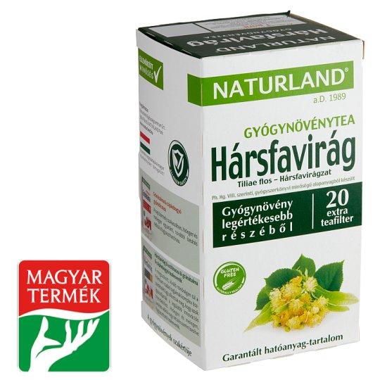 Naturland Herbal hársfavirág gyógynövénytea 20 filter 25 g
