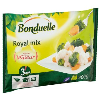 Bonduelle Vapeur Quick-Frozen Royal Vegetable Mix 400 g
