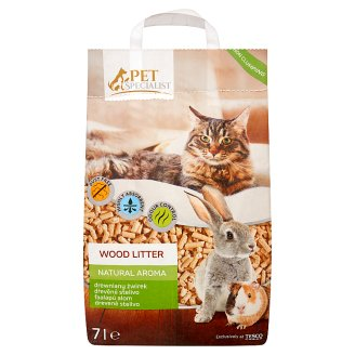 Tesco Pet Specialist Natural Aroma faalapú alom 7 l