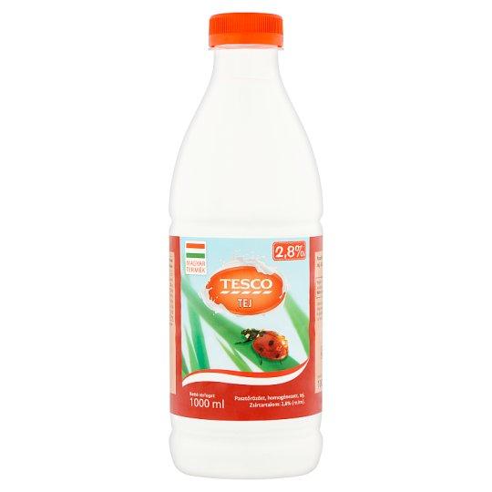 Tesco Milk 2,8% 1000 ml