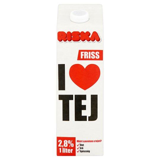 Riska I Love friss tej 2,8% 1 l