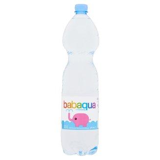 Babaqua szénsavmentes természetes ásványvíz 1,5 l