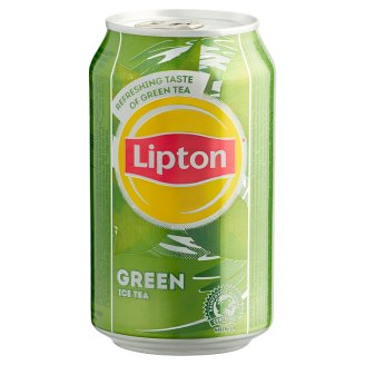 Lipton Green Ice Tea Non-Carbonated Soft Drink with Sugar and Sweetener 330 ml