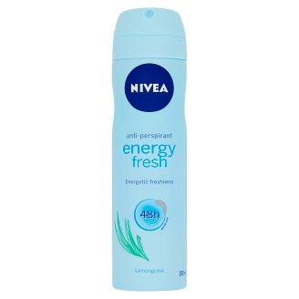 NIVEA Energy Fresh Lemongrass izzadásgátló deo spray 150 ml